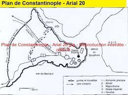 si e de constantinople plan de constantinople arial 20 filigrane base de données