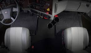 minimizer offers custom floor mats for western star trucks