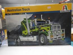 100 Plastic Truck Model Kits Italeri 719 124 Scale Australian Kit