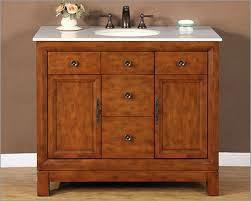 silkroad 42 cream marfil marble top bathroom vanity 2 drawers