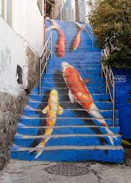 16th Avenue Tiled Steps Address by Stair Art Is A Stunningly Unexpected Canvas For Public Murals