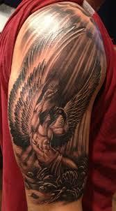 35 Beautiful Angel Tattoos Ideas