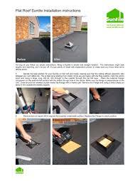 flat roof tile installation suntile pdf