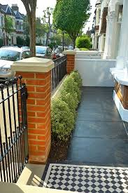 Victorian Front Garden Design London Red Rubber Brick Wall With ... Surprising Saddlebrown House Front Design Duplexhousedesign 39bd9 Elevation Designsjodhpur Sandstone Jodhpur Stone Art Pakistan Elevation Exterior Colour Combinations For Wall India Youtube Designs Indian Style Cool Boundary Home Com Ideas 12 Tiles In Mellydiainfo Side Photos One Story View