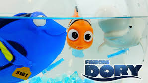 finding dory disney movie windup bath toys with dory bailey nemo