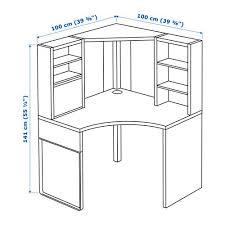 Linnmon Corner Desk Dimensions by Image Result For Micke Corner Desk Dimensions Spaces Pinterest