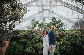 Jason & Leonora A Matthaei Botanical Gardens Engagement Shoot