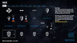 Payday 2 Halloween Masks Unlock by Official Gage Shop Wip 12 Mods U0026 Downloads