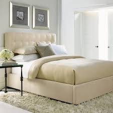 Skyline Tufted Wingback Headboard King by Tufted Bed Frame Delano White Leather Platform Bed With Tufted