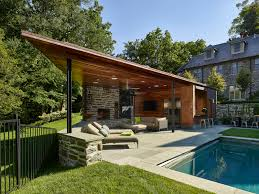 100 Modern Pool House WYANT ARCH Residential Architecture Interiors