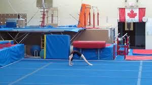 boys gymnastics level 2 floor routine 2013 youtube