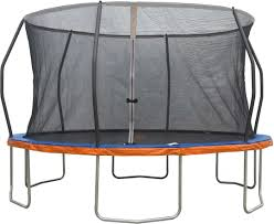 Jump Power 14' Round Trampoline With Safety Enclosure Net