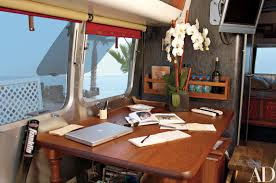 100 Inside An Airstream Trailer Matthew McConaugheys Home In Malibu Architectural Digest