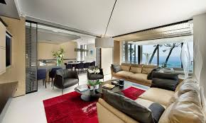 Black And Red Living Room Ideas by Interior Elegant Modern Living Room Decoration Ideas Using Curved
