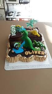 dinosaurier torte 5 geburtstag kinder kuchen geburtstag