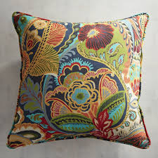 Pier 1 Outdoor Cushions Canada by Vibrant Paisley Pillow Pier 1 Imports