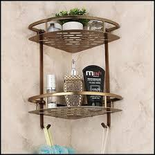 2018 Bathroom Accessories Wall Mounted Type Dual Tier Shelves Wrought Iron Shelf For Bath From Sojo