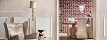 luxus tapeten im barock trend