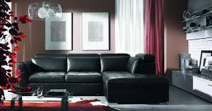 Aarons Living Room Furniture by Living Room Black Leather Sectional Living Room Ideas Black