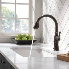 Delta Faucets Cassidy Line by Delta Faucets Cassidy Single Handle Kitchen Faucet Venetian