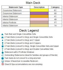 Carnival Splendor Deck Plans by Carnival Splendor Senior Cruises Australia