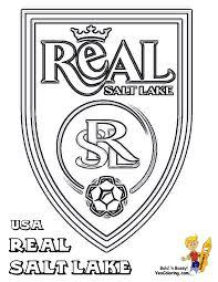 Real Salt Lake Soccer Print Out