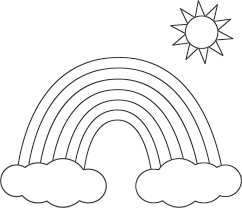 Rainbow Coloring Pages For Kids And Page