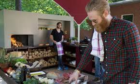 kochen die schönsten outdoor küchen für den sommer wienerin