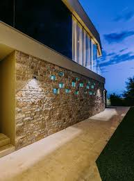 100 Dream Houses In The World Stone Wall Around House Defines Its Entrance