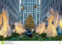 Christmas Tree Rockefeller Center Live Cam by Famous Christmas Decoration With Angels And Christmas Tree Nyc