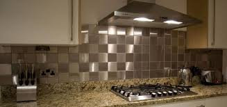 backsplash ideas astounding metal tile backsplash metal