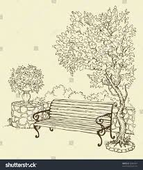 Best Solutions Sketch The Day No 135 Park Bench – The Crazy