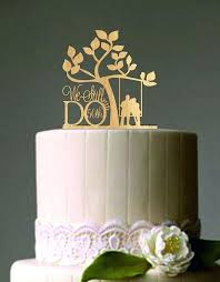 Rustic Wedding Cake Toppers Vow Renewal Or Anniversary Topper We Still Do Ideas