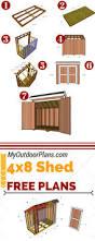 Livestock Loafing Shed Plans by 58 Best Shed Plans Images On Pinterest