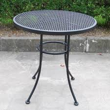 100 Small Wrought Iron Table And Chairs Patio Ideas Mesh Back Chair Black At Home Patio