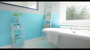 Teal Bathroom Paint Ideas by Bathroom Ideas Using Aquamarine Blue Dulux Youtube