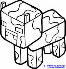 How To Draw A Minecraft Cow Step 6