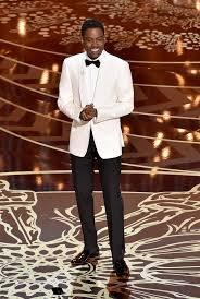 The 88th Annual Academy Awards Host Chris Rock Wearing A Custom Burberry Tuxedo With Satin