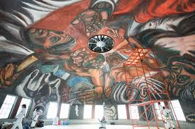 udeg e inba intervienen para que murales de orozco resistan