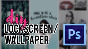 3 DIY Lockscreen Wallpaper FAST EASY