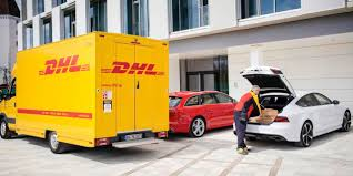 BBC - Autos - Audi, Amazon And DHL Begin Direct-to-car Parcel Dropoff Dhl Truck Editorial Stock Image Image Of Back Nobody 50192604 Scania Becoming Main Supplier To In Europe Group Diecast Alloy Metal Car Big Container Truck 150 Scale Express Service Fast 75399969 Truck Skin For Daf Xf105 130 Euro Simulator 2 Mods Delivery Dusk Photo Bigstock 164 Model Yellow Iveco Cargo Parked Yellow Delivery Shipping Side Angle Frankfurt