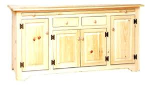 Unfinished Sideboard All Made Hutches Buffets For Sideboards