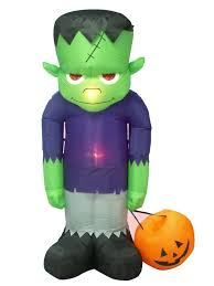 Halloween Blow Up Decorations For The Yard by The Holiday Aisle Halloween Inflatable Frankenstein Decoration