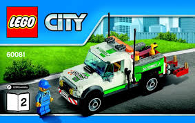 60081 Pickup Tow Truck Lego City Great Vehicles Part 2 Of 2 - YouTube