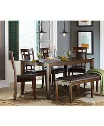 garwood dining room furniture collection macy s 7 piece table