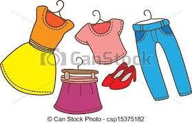 Pick Out Clothes Clipart