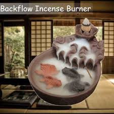 Detail Feedback Questions About Ceramic Fish Backflow Incense Burner