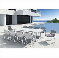 Luxury 8 Armrest Chairs Rectangle Table White Aluminum Outdoor Garden  Furniture Dining Room Set - Buy Dining Room Set,Garden Furniture Dining  Room ... Amazoncom Nuevo Soho Alinum Ding Chair Chairs Mayakoba Outdoor In White Textilene Set Of 2 By Zuo Darlee Nassau Cast Patio Chairultimate Room Modway Eei3053whinav Stance Contemporary Ding Chair With Armrests Stackable Navy Metal Emeco Restaurant Coffee Blue Indoor Galvanized Galvanised 11 Piece America Luxury 11577 Modern Urban Design Myrtle Beach Shiny Copper Finished Hot Item Textile Glass Garden Sling Table Hotel Project Fniture