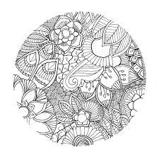 Tete De Tigre Dessin Belle Coloriage Fleurs A Imprimer Gratuit