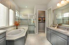 Drees Homes Floor Plans Dallas by Master Bathroom With Glass Shower The Alistair Floor Plan Drees